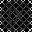 Nine Number Roman Icon
