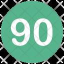 Ninety Icon