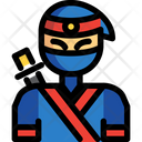 Ninja Assassin Warrior Icon