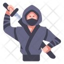 Ininja Ninja Sword Icon