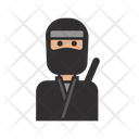 Ninja Japanese Warrior Icon