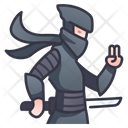 Character Rpg Ninja Icon