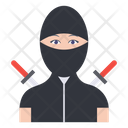 Ninja Girl Professional Icon