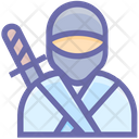 Ninja Shinobi Warrior Icon