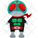 Ninja Villian Man Icon