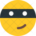 Ninja Smiley Icon