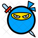 Ninja Face Mercenary Icon