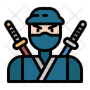 Ninja Warrior Japanese Icon