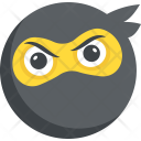 Bandit Emoticon Emoji Icon