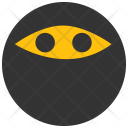 Ninja Emoji Smiley Icon
