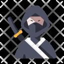 Ninja Soldier Martial Icon