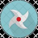 Ninja Shuriken Icon