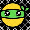 Ninja Emoticon Expression Icon