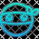 Ninja Smile Emoticon Icon