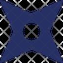 Ninja Star Icon