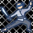 Ninja Sword Sparring Icon