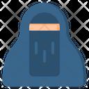 Niqab Hijab Female Icon