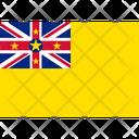 Flag Country Niue Icon