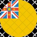 Niue Flag Country Icon