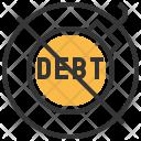 No Debt Discussion Icon