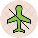 No Flight Plane Icon