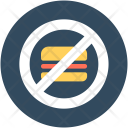 No Burger Fast Icon