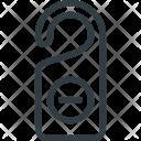 No Entry Door Icon