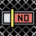 No Dislike Thumb Down Icon