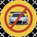 No Parking Car Icon