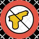No Arms Sign Icon
