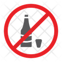 No Alcohol Drink Icon