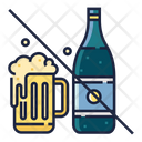 No Alcohol Avoid Drink Avoid Drinking Icon