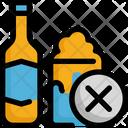 No Alcohol Beer Icon