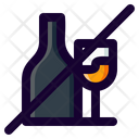 Alcohol Drunk Forbidden Icon