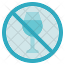 Blood Donation Medical No Alcohol Icon