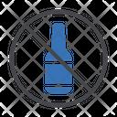 No Alcohol No Wine Ban Icon