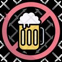No Alcohol No Drink No Drinking Icon