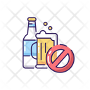 Alcohol No Stop Icon