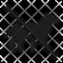 No Animal No Pet Ban Icon