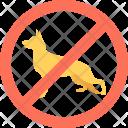 No Animal Allowed Icon