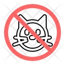 No Animals Icon