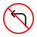 Notallowed Previous Back Icon