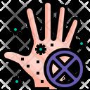 No Bacteria No Virus No Infection Icon