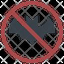 Bat No Eating Icon