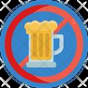 Keto Diet No Beer No Alcohol Icon