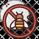No Bees Ban Bees Honey Icon