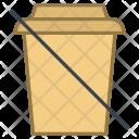 No Beverages Ban Icon