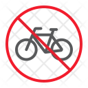 Bicycle Bike Stop Icon
