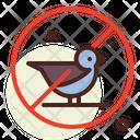 No Bird Icon