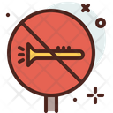 No Blow Horn Icon